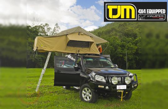 Roof top tent TJM
