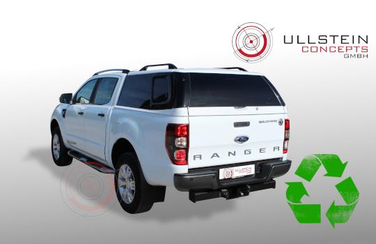 Ford Ranger Doppelkabine Hardtop Sammitr V4 Schiebefenster