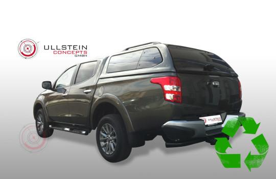 Hardtop Pickup Green-Top Fiat Fullback Mitsubishi L200