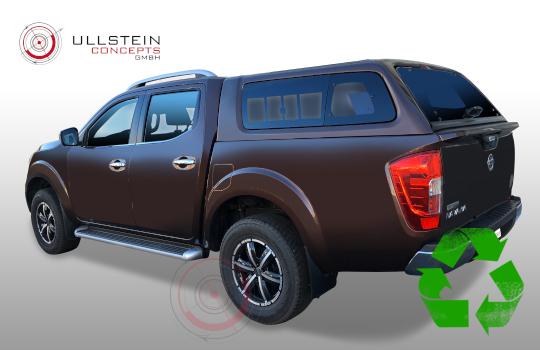 Hardtop Pickup Green-Top Nissan Navara NP300
