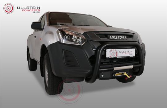 winch mounting kit Isuzu D-Max