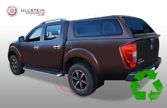 Nissan Navara Hardtop Green-Top Ausstellfenster