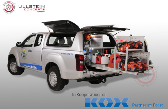 Sonderlösung Pickups Forstausrüstung