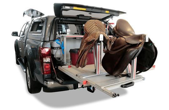 Sondersolution Pickup Reiterumbau