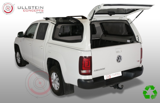 VW Amarok Canopy Sammitr V2 glass side doors