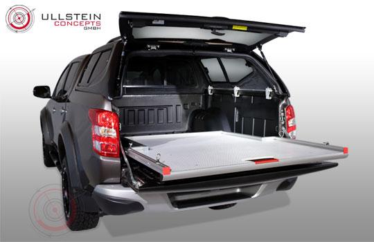 ausziehbare Ladefläche Pick-Ups Schublade WORKS Standard Mitsubishi L200 2016 Doppelkabine