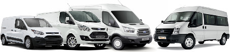 Roof racks Ford transporter and commercial vehicles